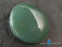 Awenturyn - płaski kamień do masażu lub oprawy