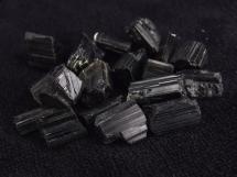 Czarny Turmalin - Schorl, Skoryl - 18 sztuk