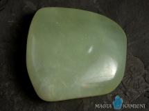Jadeit - płaski kamień do masażu lub oprawy