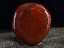 Jaspis czerwony - płaski kamień do masażu lub oprawy