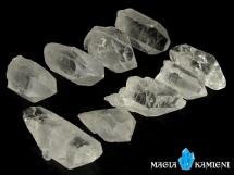 Kryształ górski - monokryształy - 9 sztuk