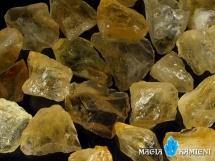 Naturalny Cytryn - wspaniały kolor - nieobrobiona bryłka S
