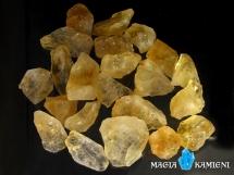 Naturalny Cytryn - wspaniały kolor - nieobrobiona bryłka M