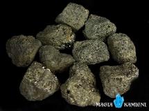 Piryt - Kamień Inków - nieobrobiona bryłka M