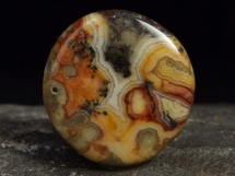 Agat - płaski kamień do masażu lub oprawy