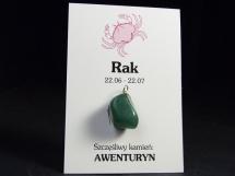 Awenturyn - wisiorek dla znaku zodiaku - Rak