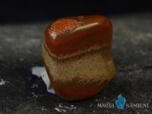 Jaspis czerwony - otoczak