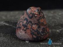 Jaspis leopardzi - otoczak