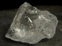 Kryształ górski - kwarc lodowy - naturalna, nieobrobiona bryłka