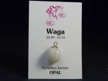 Opal - wisiorek dla znaku zodiaku - Waga