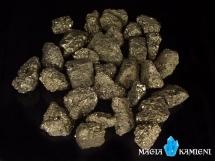Piryt - Kamień Inków - nieobrobiona bryłka S